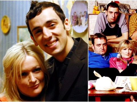 Ralf Little admits he had a huge crush on Caroline Aherne when he joined The Royle Family