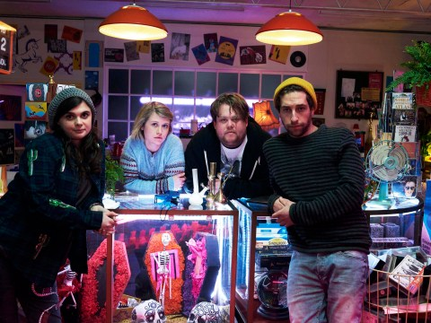 If you liked Spaced you'll love E4's new show Wasted