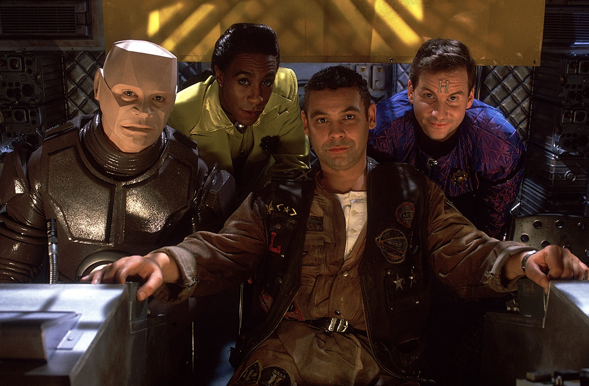 'Welcome back boys!' Red Dwarf XI gets the thumbs up as new series airs