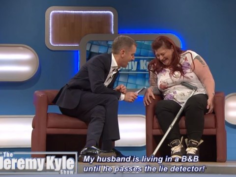Jeremy Kyle signs guests' lie detector results after they save couple's relationship
