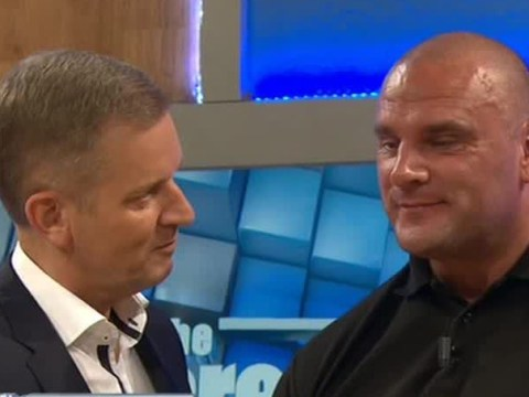 Jeremy Kyle does 'lie detector' on security guard Steve, asks if he's ever had sex on the bathroom floor