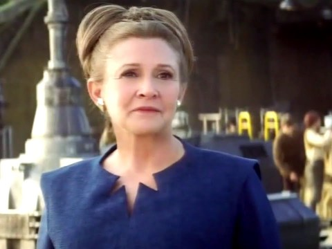 Star Wars actress Carrie Fisher slams Leia's 'baboon ass' hairstyle in The Force Awakens