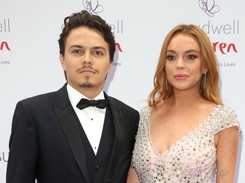 Lindsay Lohan 'threw her fiance's phone in the sea during blazing holiday row'
