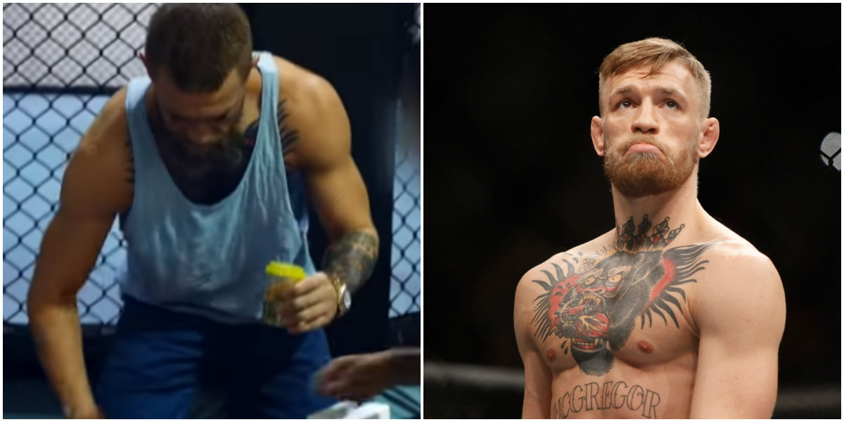 Conor McGregor was visited by USADA ahead of his UFC 202 rematch with Nate Diaz