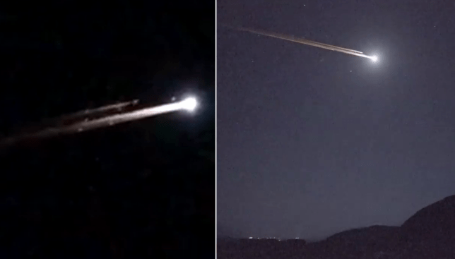 People Freak Out After Witnessing Mystery Light In The Night Sky