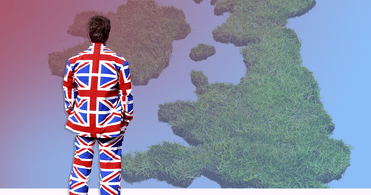 It's more than likely you're not 'ethnically British'