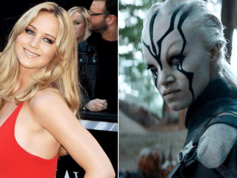 Star Trek: Beyond character basically IS Jennifer Lawrence