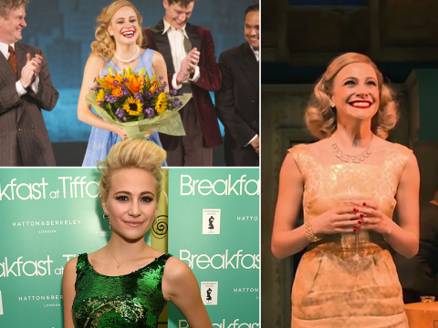 Pixie Lott as Holly Golightly in Breakfast At Tiffany's: Reviews are in and it's not pretty