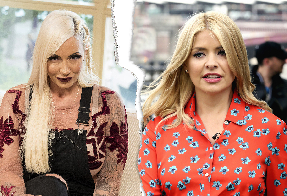Jodie Marsh and Holly Willoughby are at war over that lipstick thing that happened a whole month ago