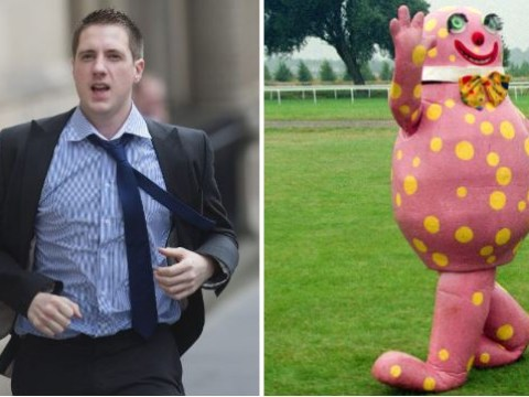 Trespasser who snuck on two planes caught thanks to Mr Blobby