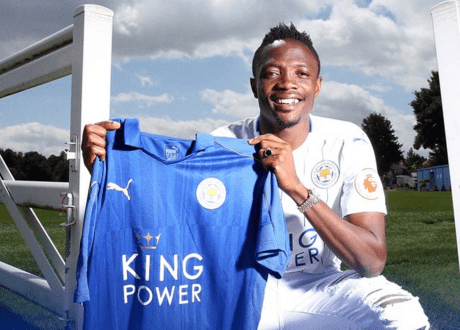 Leicester City confirm transfer of striker Ahmed Musa