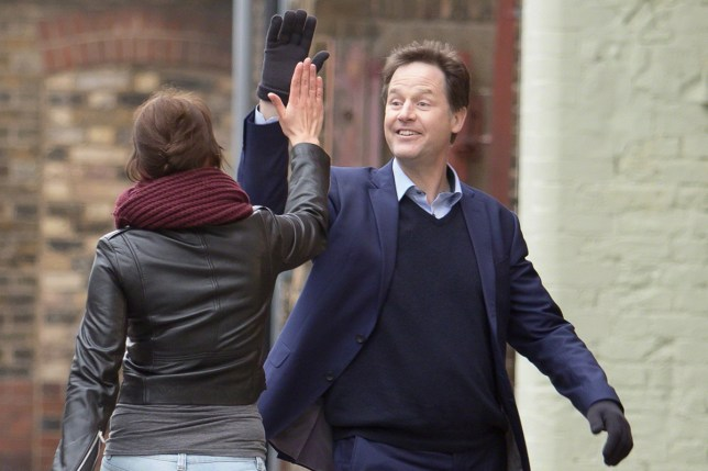 Nick Clegg almost did this