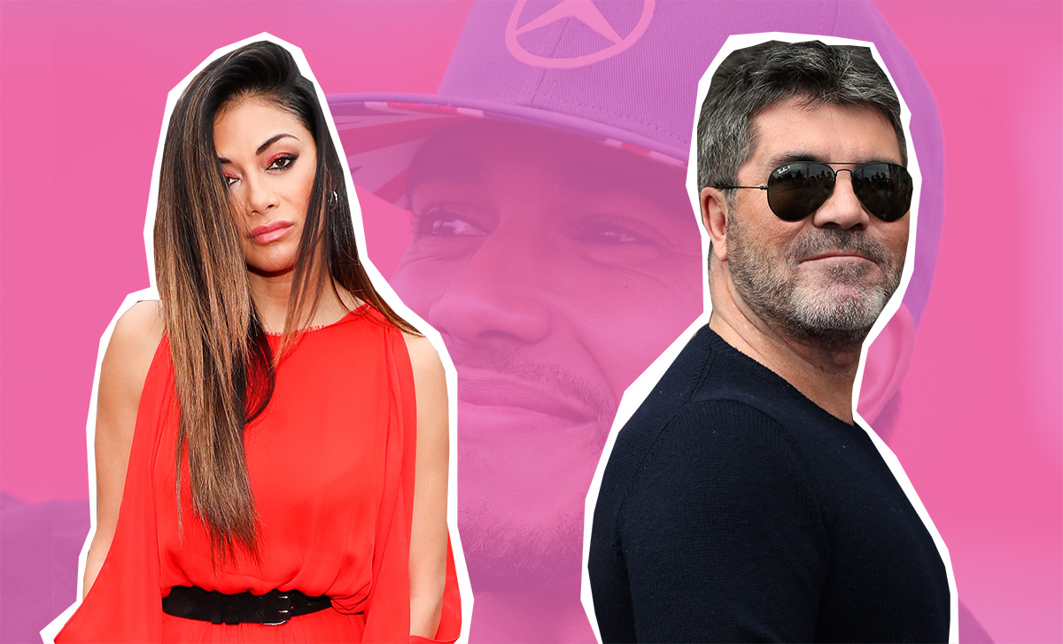 Simon Cowell has totally pissed off Nicole Scherzinger by joking about Lewis Hamilton LONDON, ENGLAND - JULY 09: Nicole Scherzinger arrives for X Factor auditions at Wembley Arena on July 9, 2016 in London, England. (Photo by Luca Teuchmann/WireImage)