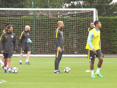 Pep Guardiola's latest training session reveals how he wants Manchester City to play