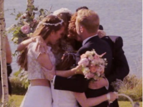 Ronan Keating has a new music video and it includes some seriously cute wedding footage
