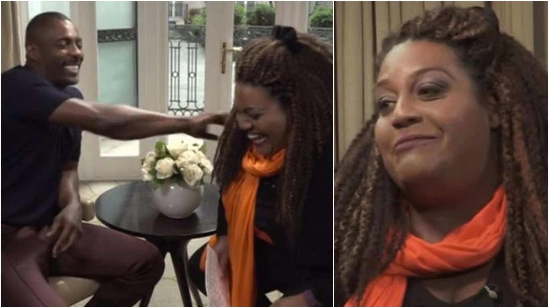 WATCH: Alison Hammond flirting with Idris Elba on This Morning was super awkward