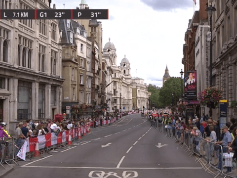 Cycling fans slam 'complete farce' as BBC loses picture in final kilometres of four-hour RideLondon-Surrey classic
