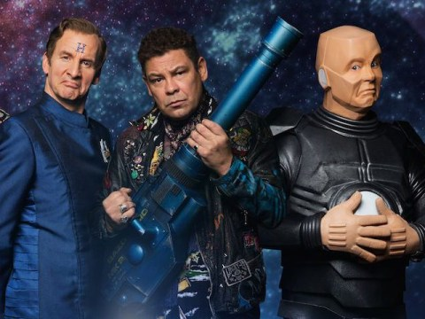 First look at the brand new series of Red Dwarf has landed