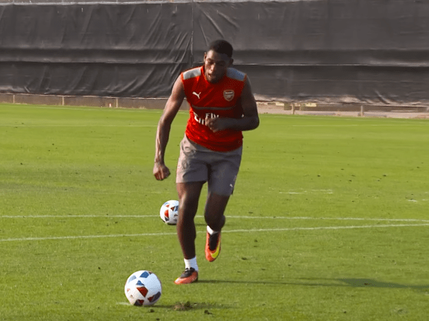 Jeff Reine-Adelaide embarrasses Arsenal team-mate David Ospina with filthy panenka