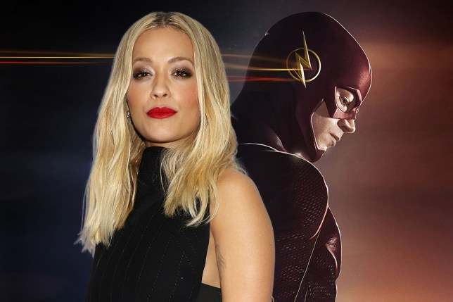 Rita Ora is the running for a role in 'The Flash' film.