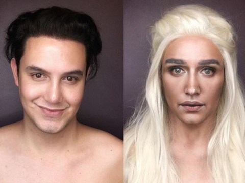 This man transforms himself into Game Of Thrones' female characters using make-up and it's just so freaky
