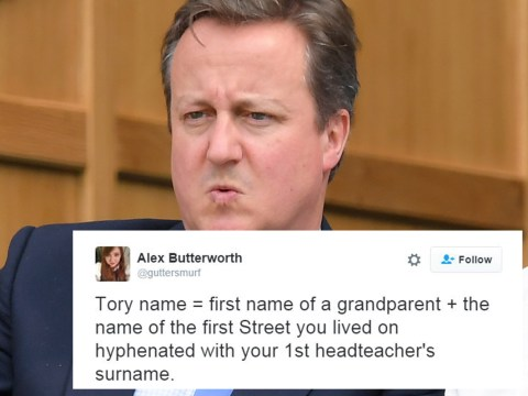 Here's why people taking part in #ToryName are a bit stupid