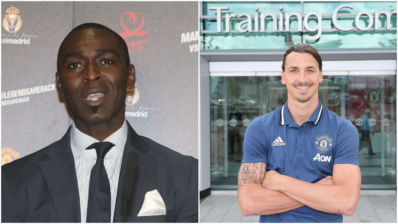 Manchester United legend Andy Cole backs Zlatan Ibrahimovic to be a success