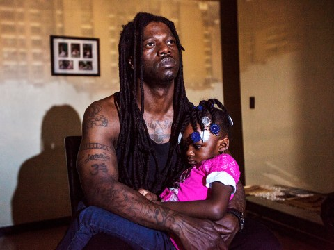 Life as a single dad in one of New York's most disadvantaged neighbourhood