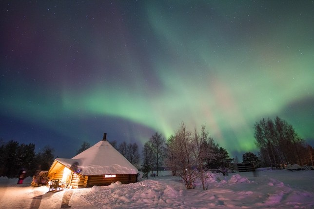An ice hotel n the Arctic Circle is advertising what might be the perfect job for lovers of spectacular night skies