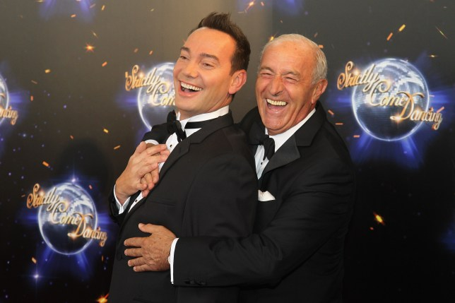 LONDON, ENGLAND - SEPTEMBER 07: Judges Len Goodman (R) and Craig Revel Horwood arrive at the Strictly Come Dancing 2011 press launch at BBC Television Centre on September 7, 2011 in London, England. (Photo by Chris Jackson/Getty Images)