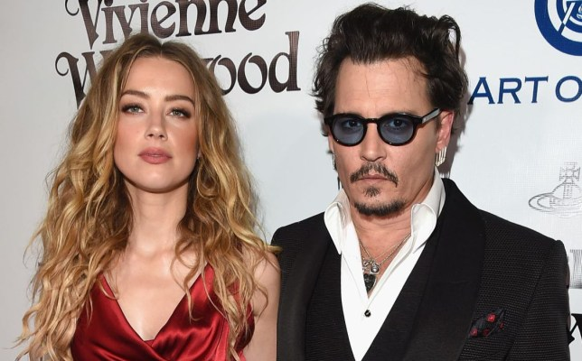 Amber Heard and Johnny Depp split in May (Picture: Getty Images for Art of Elysium)