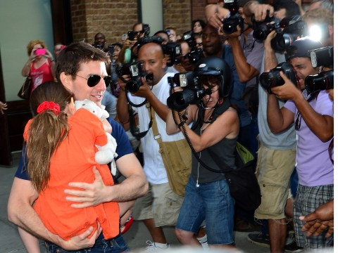 US magazine claims Tom Cruise 'has no relationship' with daughter Suri