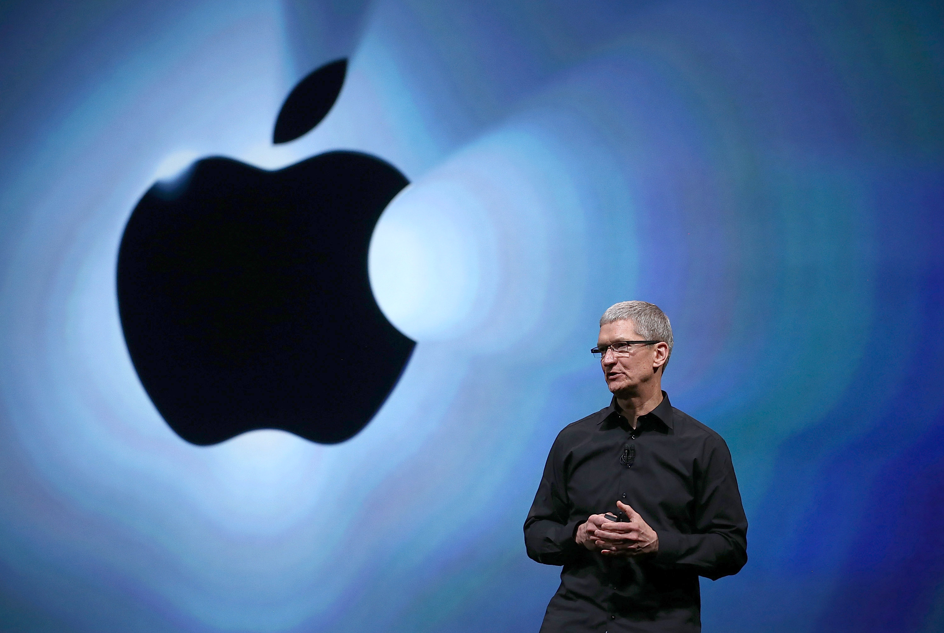 Apple CEO Tim Cook will probably announce the iPhone 7 next month (Picture: Getty Images)