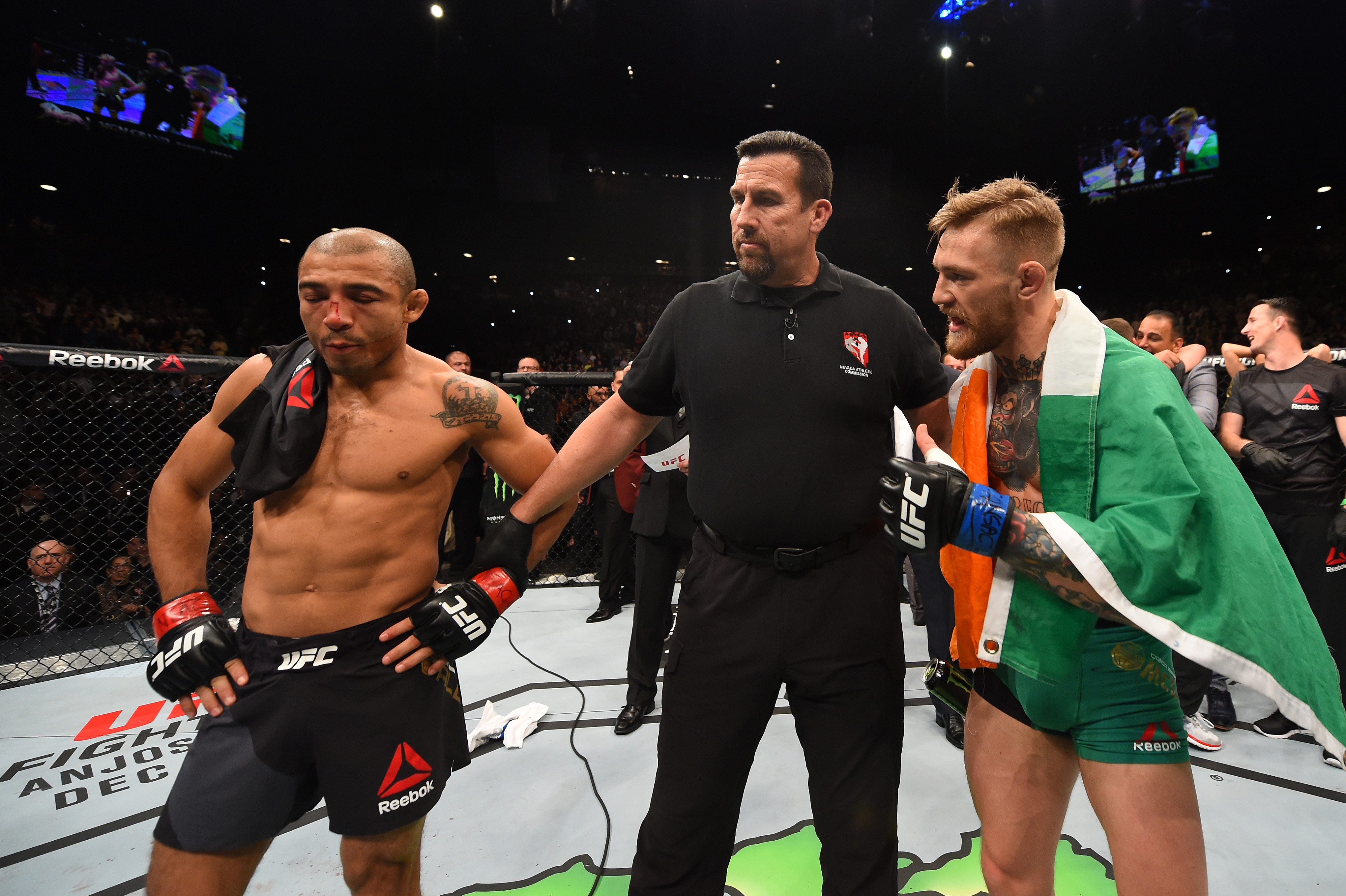 Jose Aldo wants to fight Conor McGregor at UFC 205 in featherweight title unification