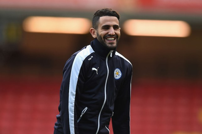 f032dadbf Riyad Mahrez snubbed Arsenal to sign a new deal at Leicester City (Picture   Getty)