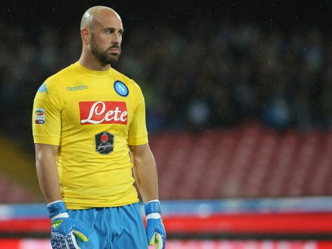 Liverpool legend Pepe Reina not happy with rumours linking him away from Napoli to Barcelona