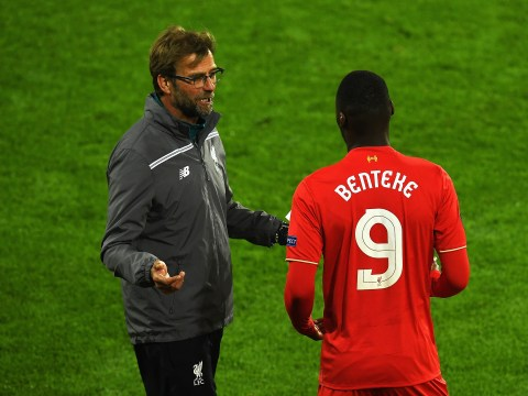 Jurgen Klopp suggests Christian Benteke can leave Liverpool for the right price