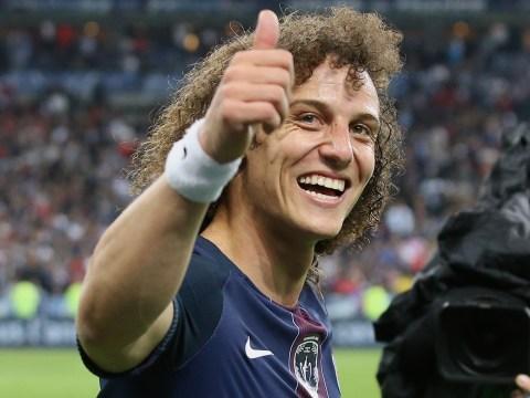 Chelsea drop David Luiz transfer hint on Twitter