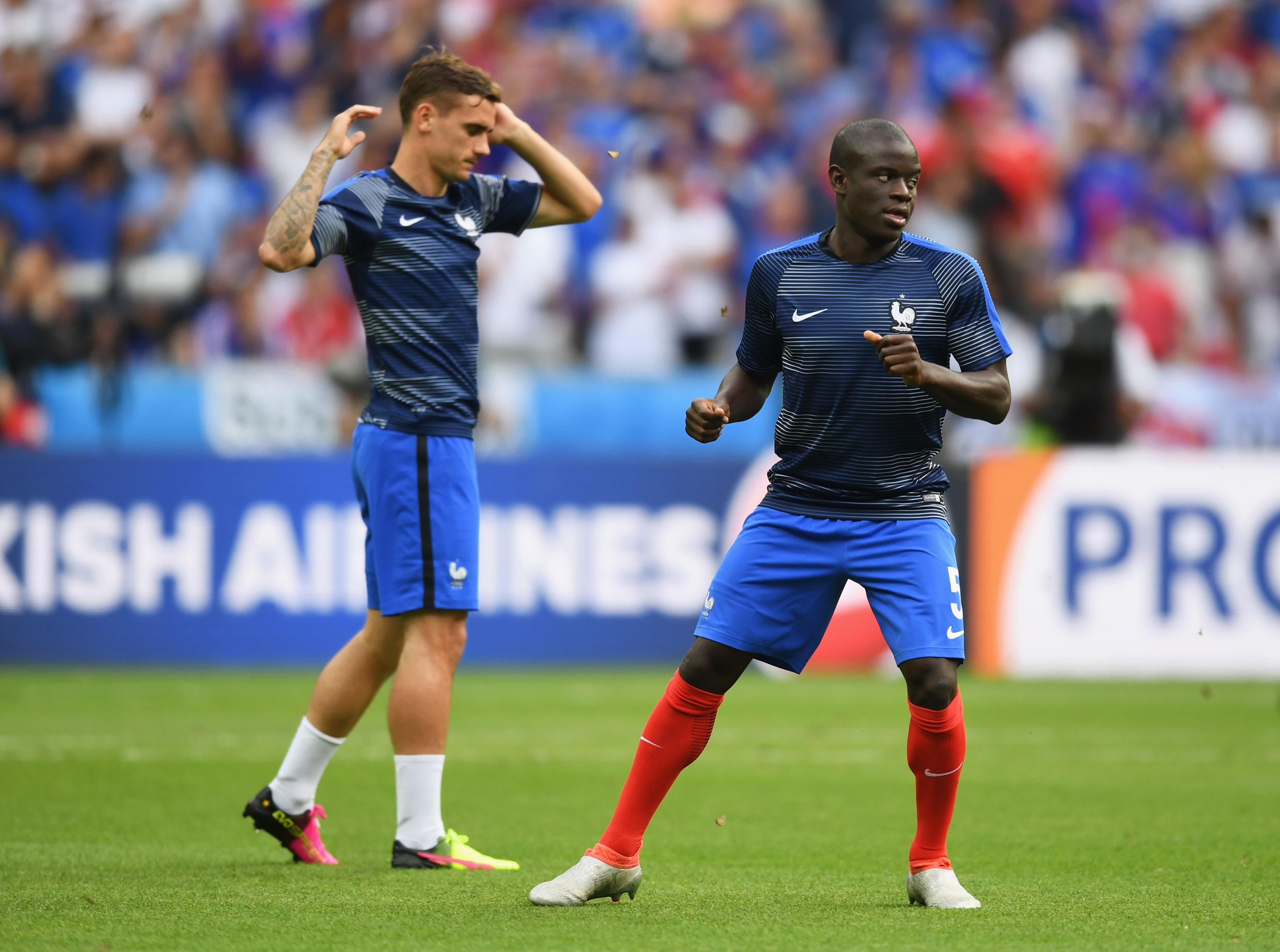 Chelsea's N'Golo Kante plays down Claude Makelele comparisons