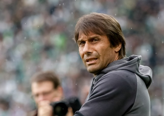 VIENNA, AUSTRIA - JULY 16:  Head coach of Chelsea Antonio Conte is seen on the bench before an friendly match between SK Rapid Vienna and Chelsea F.C. at Allianz Stadion on July 16, 2016 in Vienna, Austria.  (Photo by Matej Divizna/Getty Images)