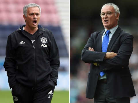 Claudio Ranieri in dig at Manchester United boss Jose Mourinho over title defence