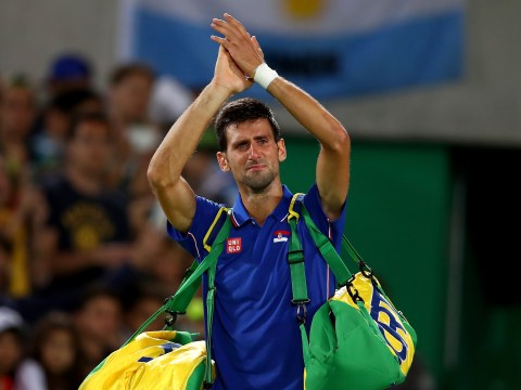 Andy Murray's hopes of winning back-to-back gold given huge boost as Novak Djokovic crashes out