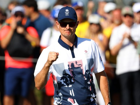 Justin Rose wins gold medal in first Olympic golf for 112 years