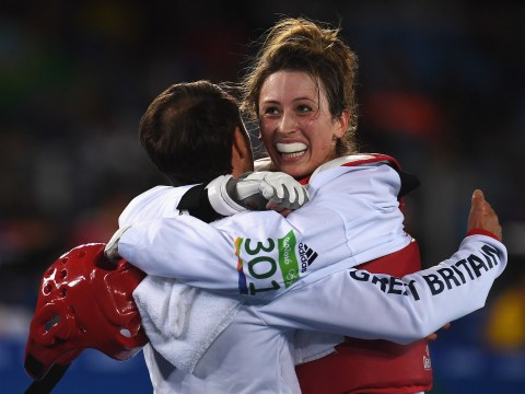 Jade Jones claims gold medal in taekwondo to become double Olympic champion
