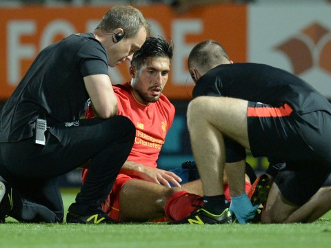 Emre Can's ankle injury is not serious, says Liverpool boss Jurgen Klopp
