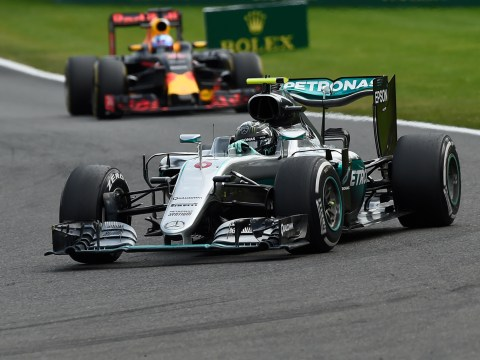 Nico Rosberg wins Belgian GP as Hamilton comes from the back of the grid to finish third