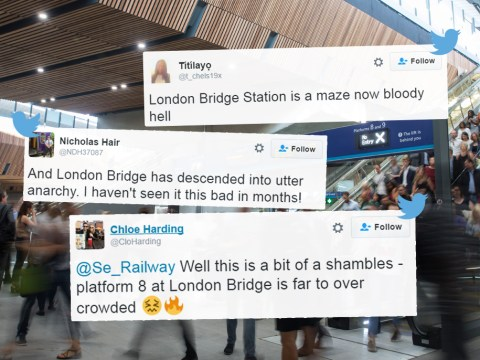 London Bridge has finally re-opened and it's 'utter anarchy'