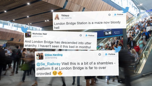 London Bridge has finally re-opened and it's a living hell Credit: Mark Thomas/i-Images