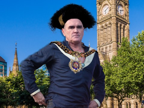 Morrissey declares himself 'Lord Mayor Of Manchester' at hometown gig