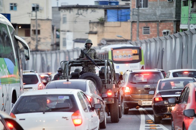 Rio claims gold for traffic jams